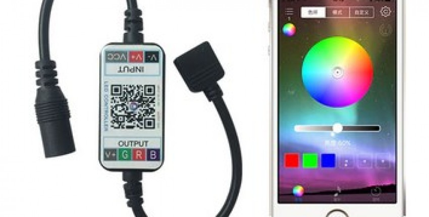 RGB Led Controller APP Bluetooth RGB Music Controller For Led Strip. - User's review