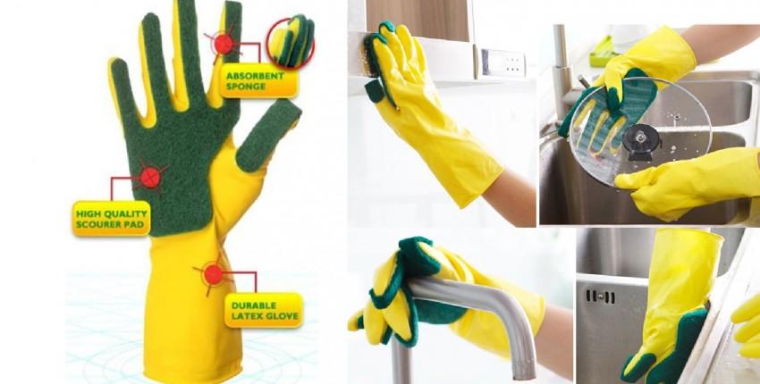 Перчатки для мытья посуды - отзыв покупателя