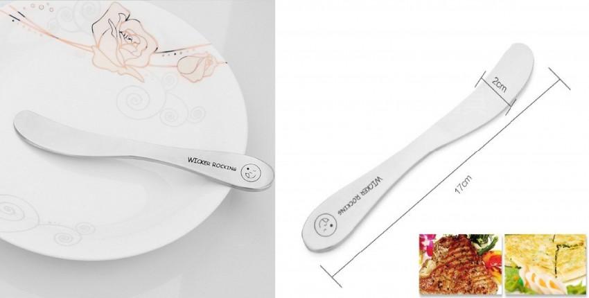 Нож лопатка для масла