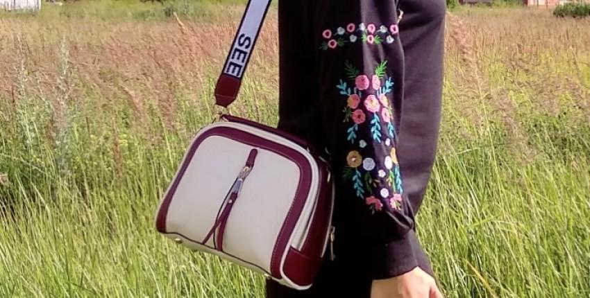 Классная сумочка кроссбоди от YBYT - отзыв покупателя