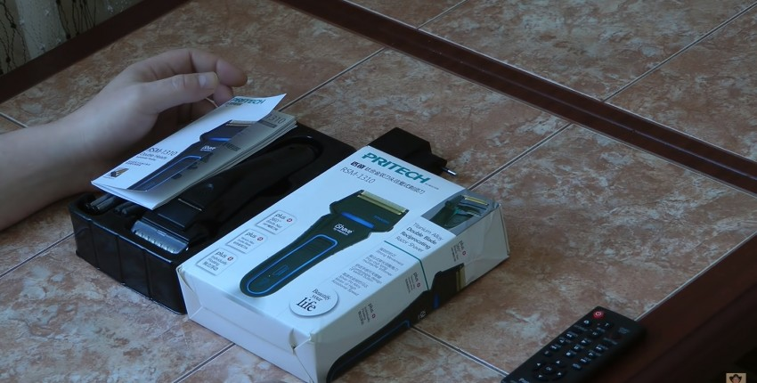 Аккумуляторная электробритва Pritech RSM-1310 - отзыв покупателя