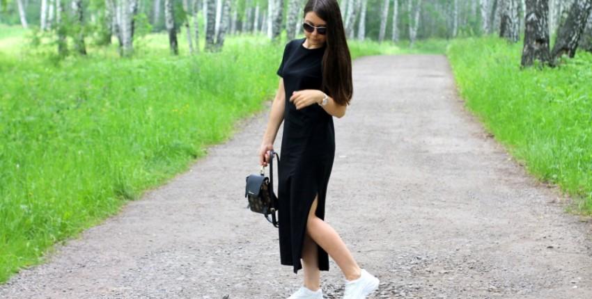 Стильное платье-футболка на лето - отзыв покупателя