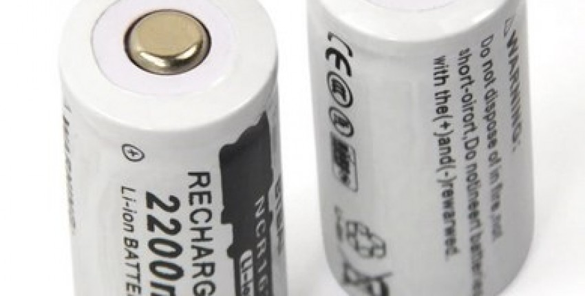 3.7V 2200mAh Lithium Li-ion 16340 Battery - User's review