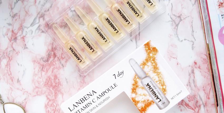 Обзор сыворотки с витамином С в ампулах от полюбившегося многим бренда Lanbena