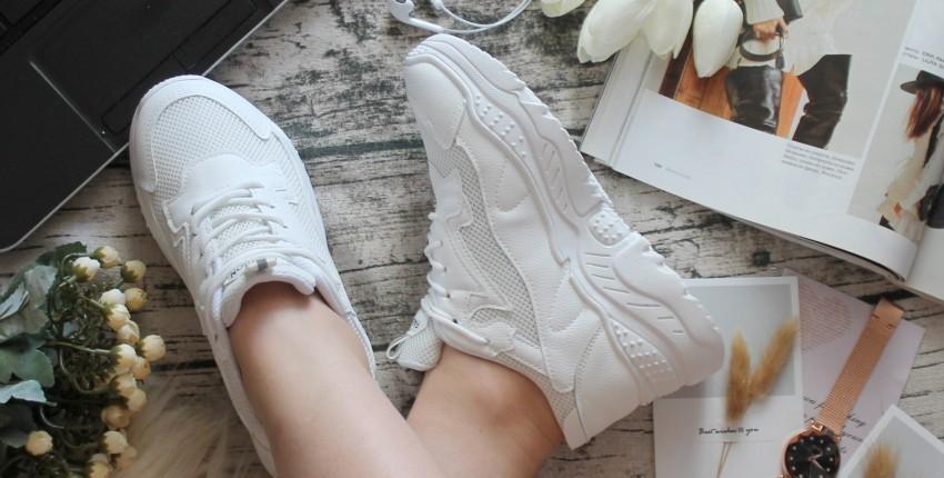 Кроссовки на платформе - отзыв покупателя