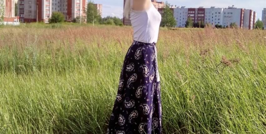 Очаровательная летняя юбка от Simplee - отзыв покупателя