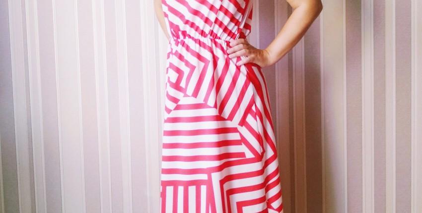 Показываю своё любимое копеечное платье с Али - лёгкое, воздушное и не просвечивает на на грамм! - отзыв покупателя