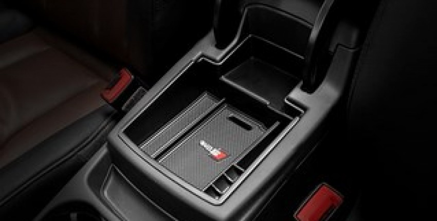 Car Organizer for Audi Q5 2009-2017 Central Armrest Storage Box.