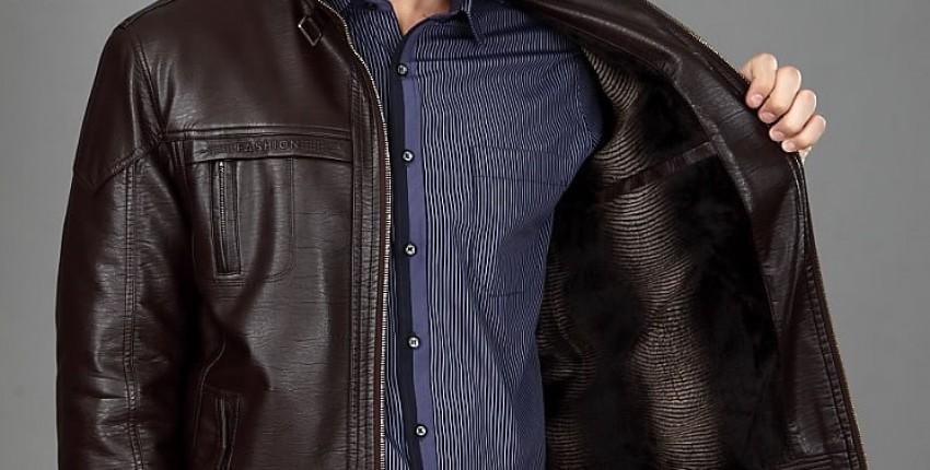 Осенние мужские кожаные куртки - отзыв покупателя
