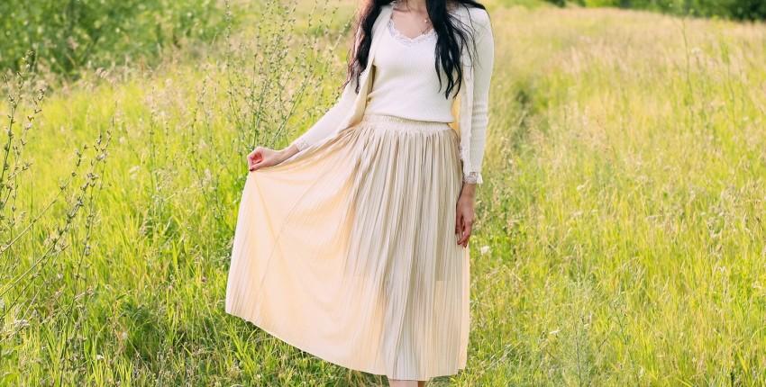 Красивая плиссированная юбка MsDaste - отзыв покупателя
