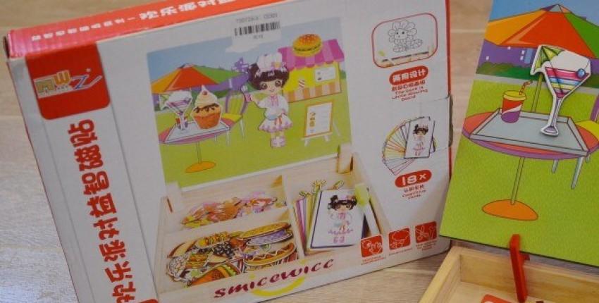 Магнитная доска для рисования с пазлами с магазина smilewill.