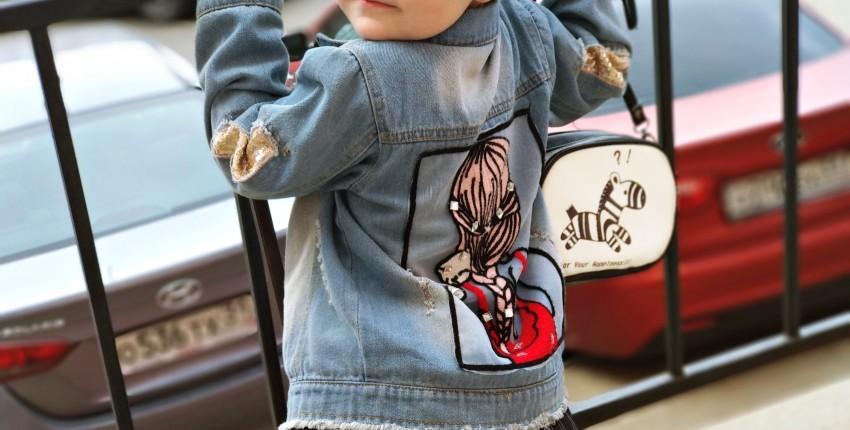 Лучшая из покупок одежды на Али - обалденная детская джинсовка по смешной цене. - отзыв покупателя