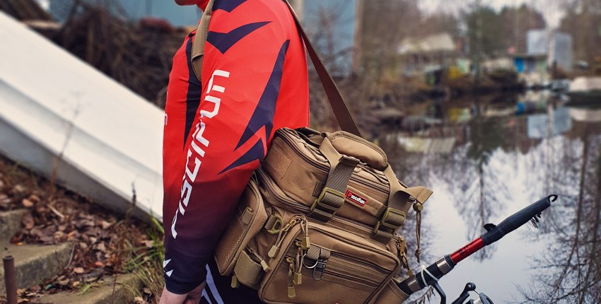 Самая удобная сумка для рыболова от Piscifun