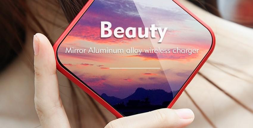 Benks W05 10 W Быстрое Беспроводное зарядное устройство Qi Реально крутое - отзыв покупателя