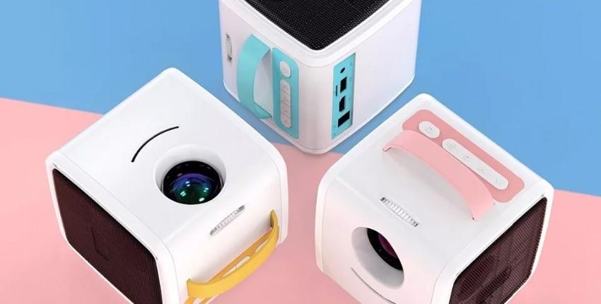 Кубик проектор с АлиЭкспресса
