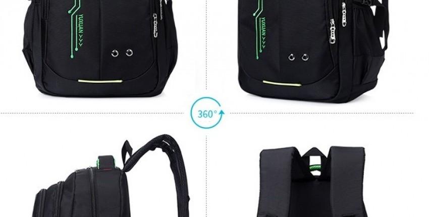 Студенческий/школьный водонепроницаемый рюкзак в стиле Оксфорд
