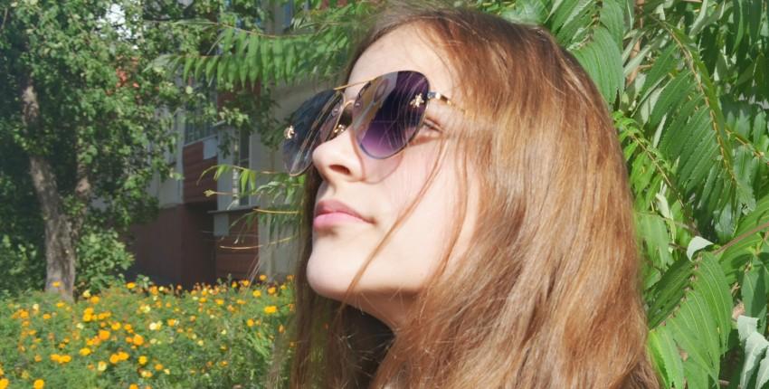 Пчёлки везде! Мои любимые солнцезащитные очки с пчёлами. - отзыв покупателя