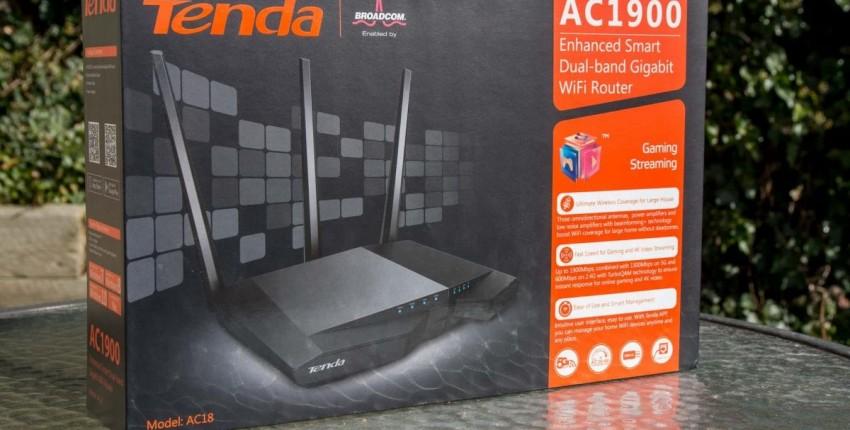 Tenda- зверь! Беспроводной Wi-Fi маршрутизатор 256 м DDR двухъядерный Процессор 1WAN  4LAN