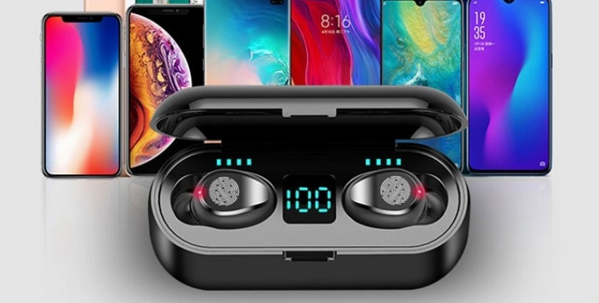 Bluetooth V5.0 беспроводные наушники стерео