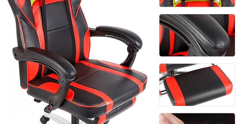 Откидное компьютерное игровое кресло - отзыв покупателя