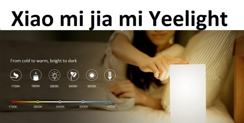 Xiao mi jia mi Yeelight умный светильник - отзыв покупателя