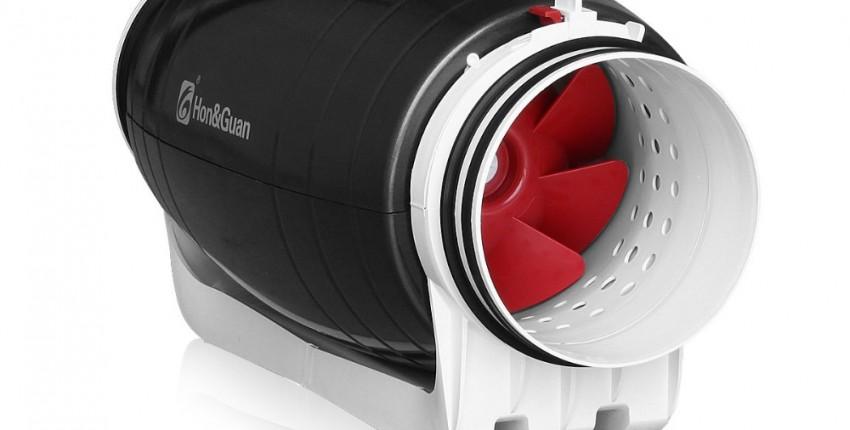 ТУРБО РЕАКТИВНАЯ ТЯГА Вытяжной вентилятор бесшумного смешанного потока - отзыв покупателя