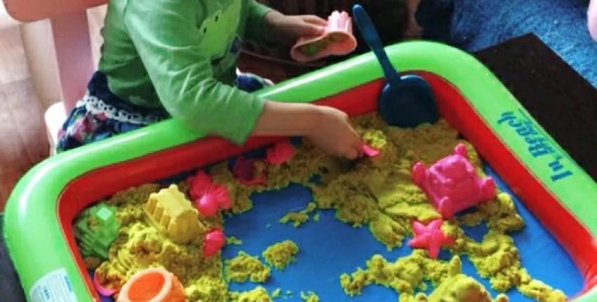 Песочница для кинетического песка с АлиЭкспресс