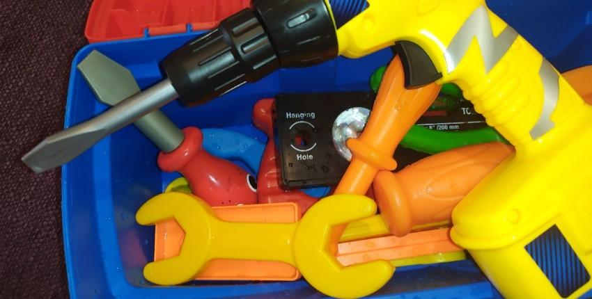 Как у папы - детский набор инструментов с АлиЭкспресс. - отзыв покупателя