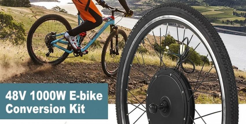 Электрический велосипед конверсионный комплект 48 в 1000 Вт - отзыв покупателя