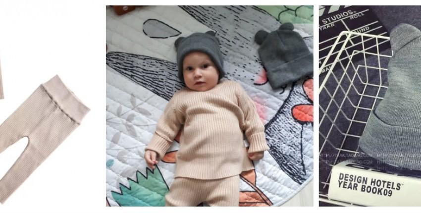 Теплый костюмчик на осень и с Алиэкспресс - отзыв покупателя
