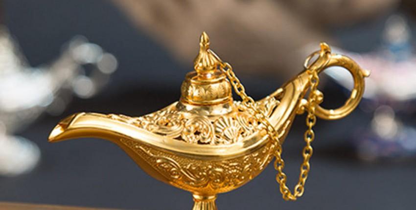 Золотая лампа Алладина Волшебная - отзыв покупателя