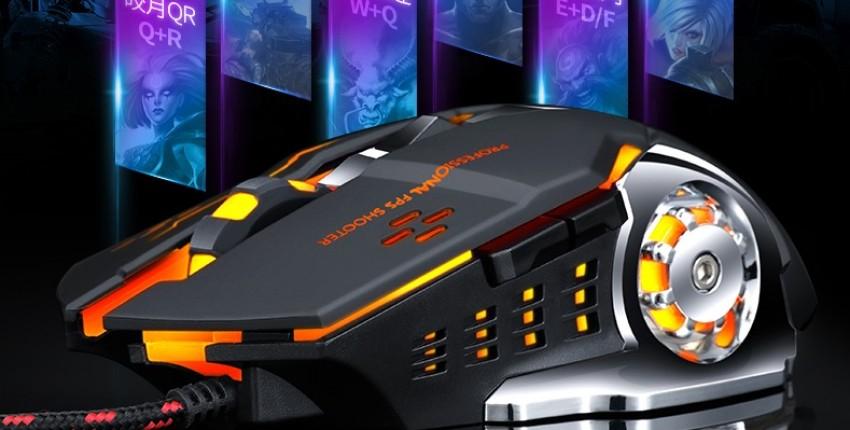 Профессиональная геймерская игровая мышка - отзыв покупателя
