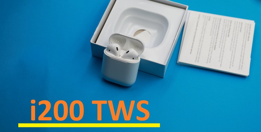 i100 200 TWS 1: 1 копия Супер копия Air 2 - отзыв покупателя