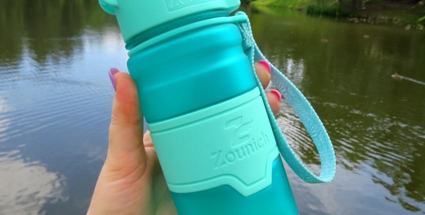 Спортивная бутылка из экологически чистого пластика на страже вашего здоровья!