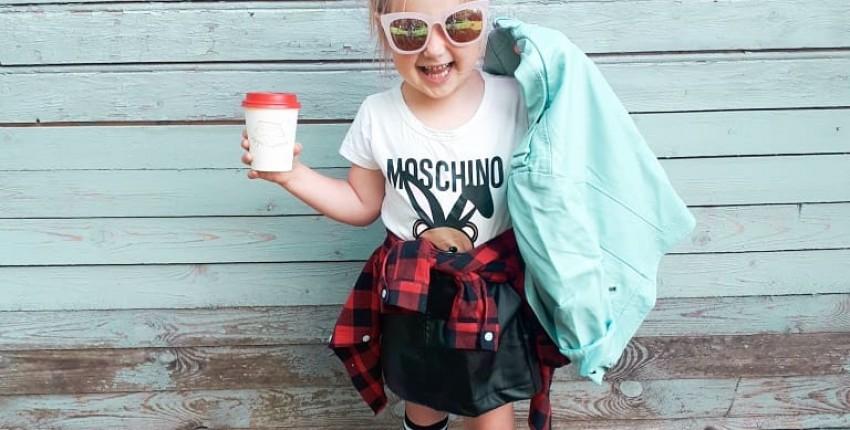 Крутой образ на девочку 3-5 лет с Алиэкспресс