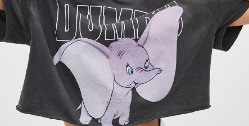 Укороченная футболка Dumbo - отзыв покупателя