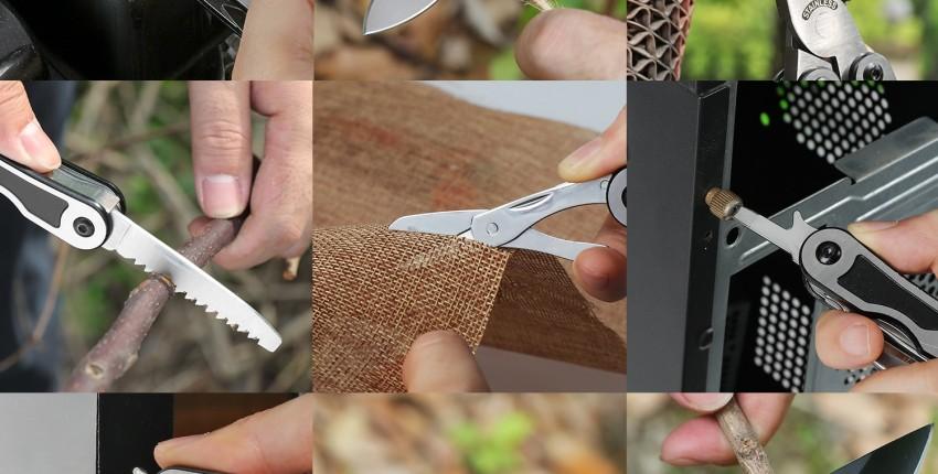 Мультитул Швейцарский нож Карманный инструмент