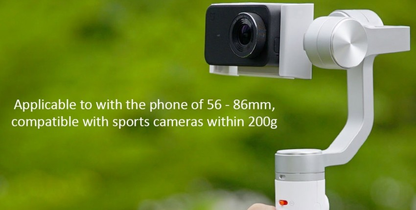 Xiaomi Mijia SJYT01FM три оси держатель стабилизатор для экшн-камеры и телефона