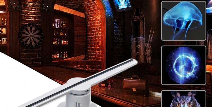 3D голографический проектор вентилятор РЕКЛАМА, БИЗНЕС - отзыв покупателя