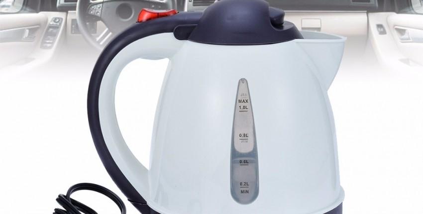 Чайник АВТОМОБИЛЬНЫЙ 12V 1 литер