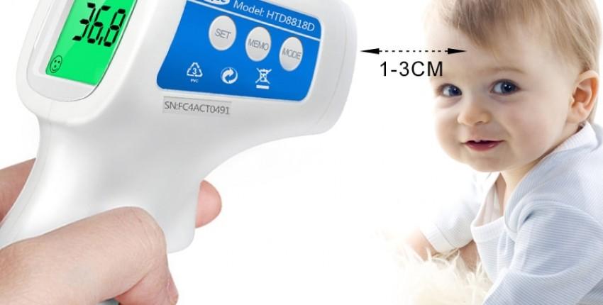 Электронный градусник для измерения температуры