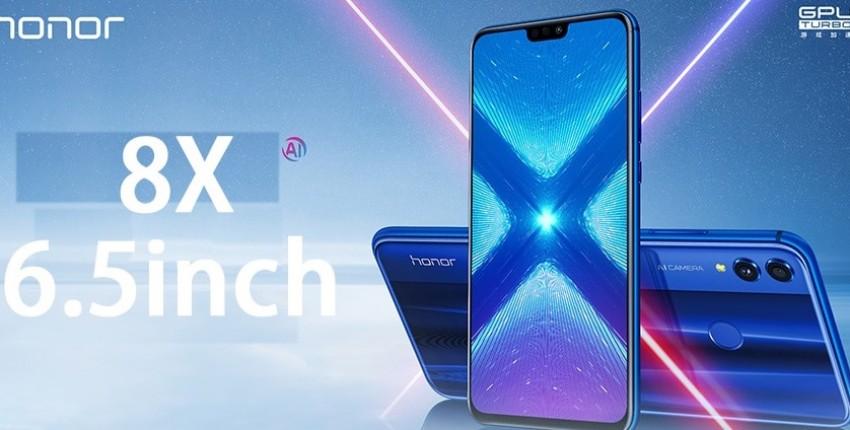 Huawe Honor 8X6,5 глобальная версия мобильного телефона Android 8,1
