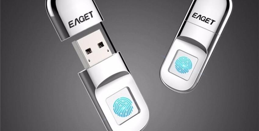 USB флэш-накопитель 32 ГБ 64 ГБ, защита отпечатком пальца