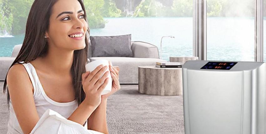 Домашний очиститель воздуха ионизатор/озонатор. Также очищает воду! - отзыв покупателя