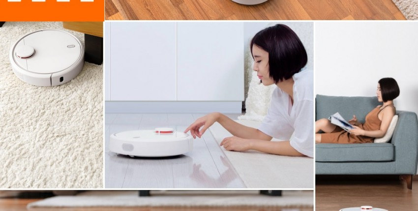 Робот-пылесос XIAOMI MIJIA умный дом - отзыв покупателя