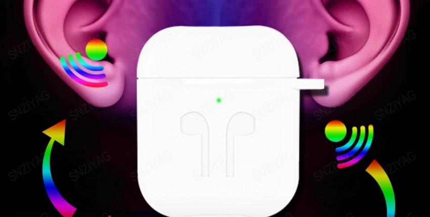 Супер копия AirPods 1:1 беспроводные наушники TWS Bluetooth 5,0 наушники для iPhone Xs Max XR