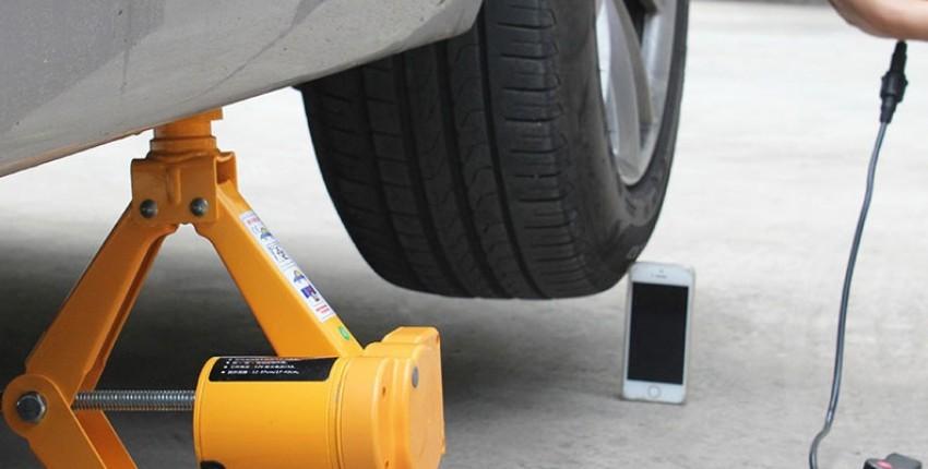 Электрический автомобильный домкрат 12v - отзыв покупателя