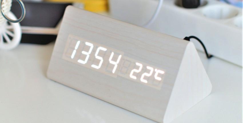 Светодиодные часы - отзыв покупателя