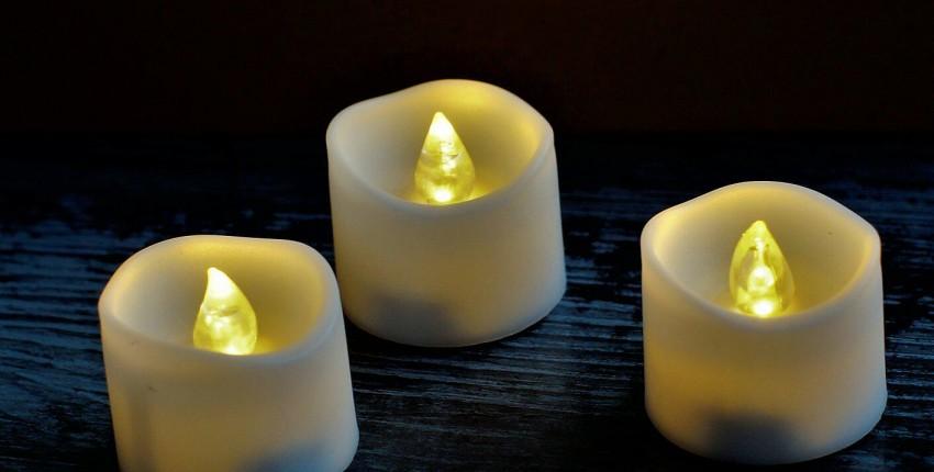 Светодиодные свечи на батарейках - CR 2032 - отзыв покупателя