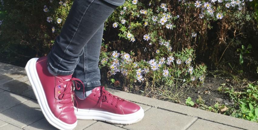 Кожаные кроссовки Onemix. Неубиваемы даже подростком! - отзыв покупателя